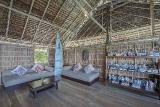 West Papua - Papua Paradise Eco Resort, Bibliothek