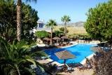 Naxos - Alkyoni Beach, Pool mit Ausblick