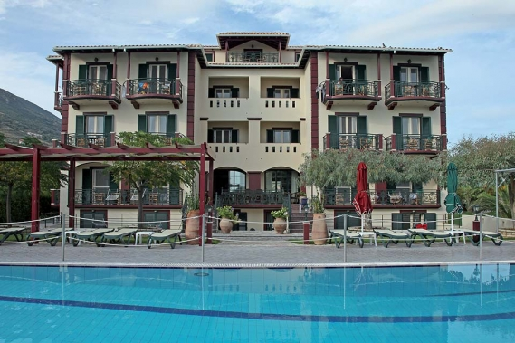 Lefkada - Hotel PortoFico mit Pool