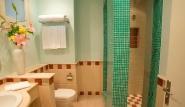 El Gouna, Hotel Fanadir, Badezimmer