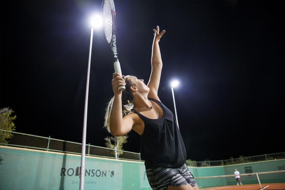 Soma Bay - ROBINSON Club, Tennis Aufschlag