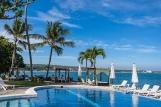 Cabarete, Velero Beach Resort, Pool mit Meerblick