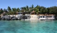 Cebu - Magic Island Dive Resort, Blick vom Meer