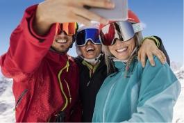 Arosa - ROBINSON Club, Ski Alpin Selfie