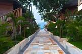 Jericoacoara - Hotel Hurricane, Weg zum Meer