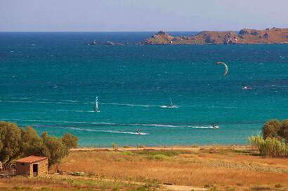 Limnos - Surf Club Keros, Surf und Kite Revier