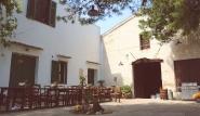 Lo Stagnone - Villa Vajarassa, Innenhof mit Grillmöglichkeit