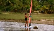 Sao Miguel do Gostoso - Surf Action in der Süßwasserlagune beim Clube Kauli Seadi