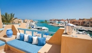 El Gouna, Captain`s Inn, Terrase Suite
