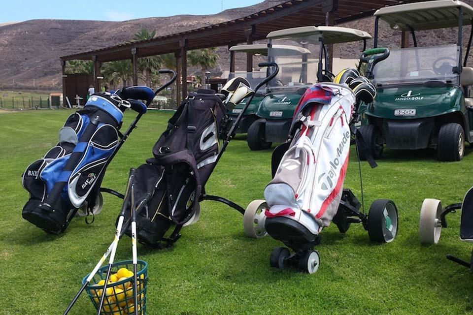 Fuerteventura - Jandia Golf, Equipment