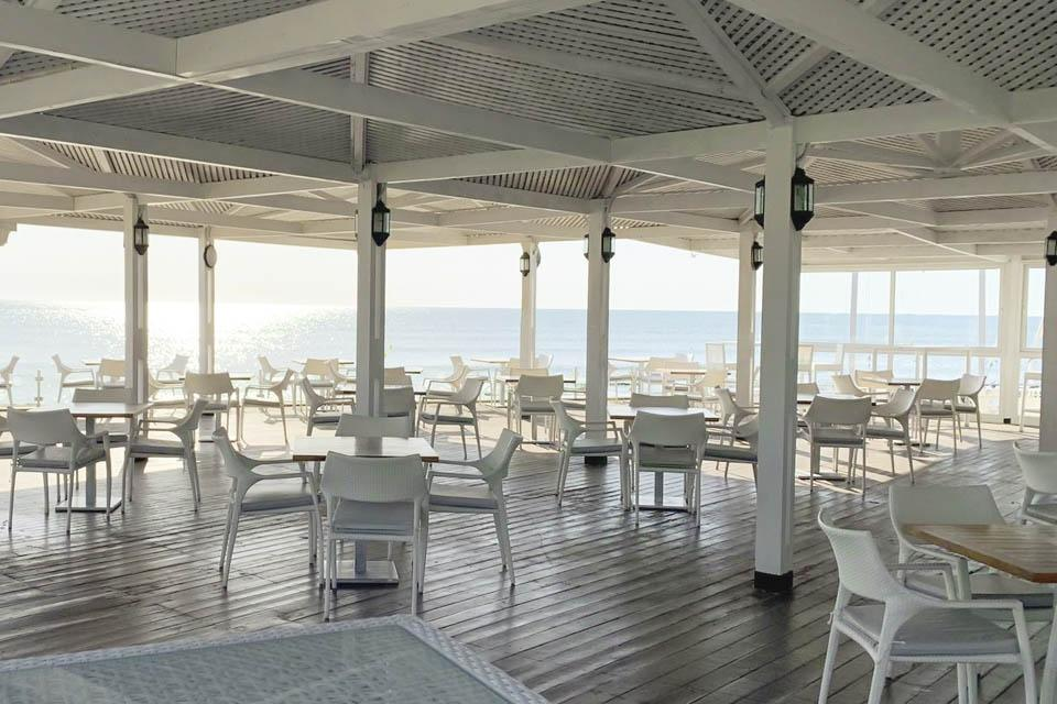 Djerba - ROBINSON Club Djerba Bahiya, Strandrestaurant