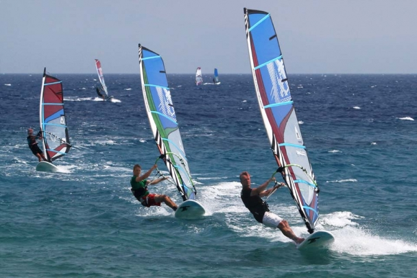 Samos - Kokkari Surf Action