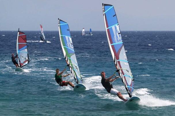 Samos - Kokkari Surf Action