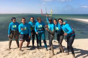 Dakhla - Kiteboarding Club, Ausflug zur weißen Düne