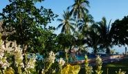 Leyte - Pintuyan Resort, Garten