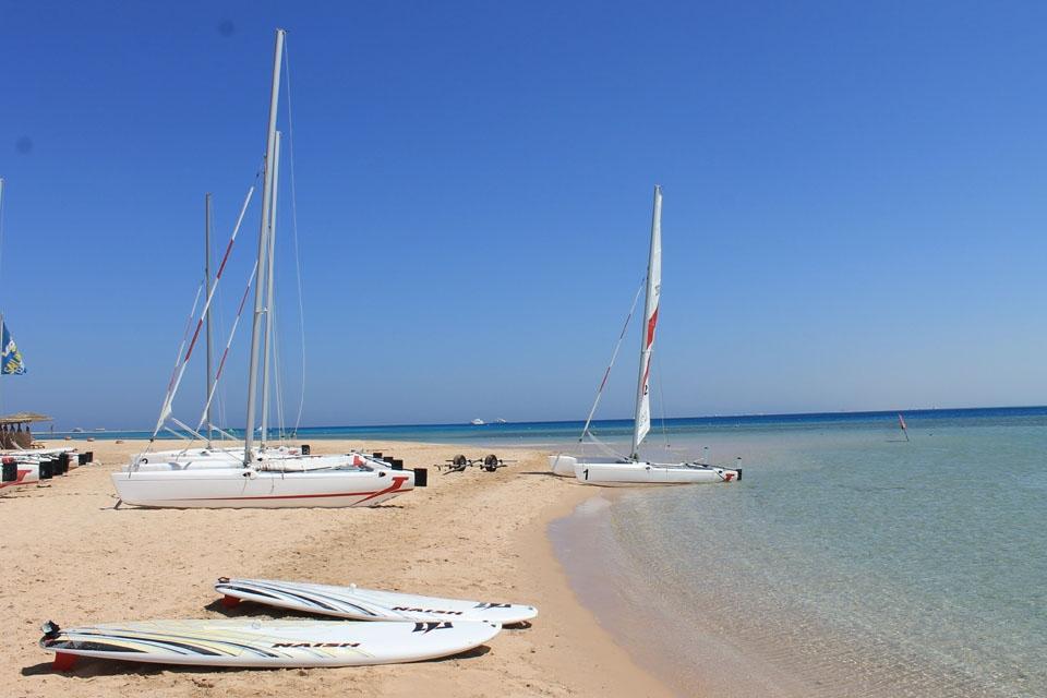 Soma Bay, Robinson Surfcenter, Strandfeeling