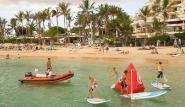 Lanzarote - Windsurfing Club Las Cucharas, Gruppe Kinderkurs
