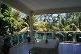 Mauritius - Baie du Cap, Kitglobing App. Anil Balkon