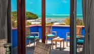 Bonaire - Sorobon Apartments, Honeymoon Balkonblick
