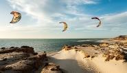 Dakhla Süd - Kite Impressionen