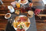 Manta Ray Lodge Frühstück