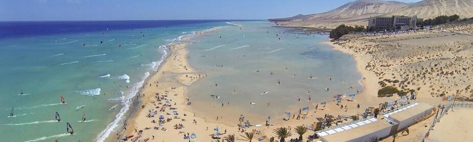 Fuerteventura Sotavento - René Egli Windsurfstation by Meliã, Headerbild