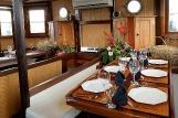 Indonesien  Emperor Raja Laut dining area