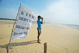 Jericoacoara - Club Ventos Kitelounge, Rescue am Kitespot