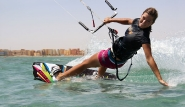 El Gouna - Girls Kite action
