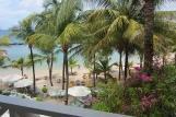 Tobago Coco Reef, Blick Balkon