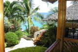 Cebu - Moalboal - Magic Island Dive Resort - Terrassenausblick