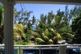 Mauritius - Baie du Cap, Kitglobing App. Anil, Aussicht Balkon