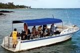 Mauritius - Orca Dive Club, Bootstauchgang Orca Dive Club