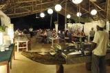 Mafia Island Lodge, Dinner