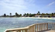 Bonaire, Sorobon Beach Resort, Aussicht Pier