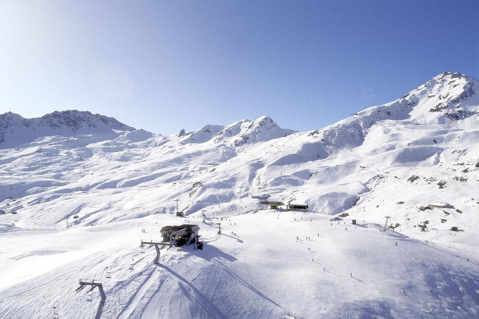Arosa - ROBINSON Club, Panoramasicht Skigebiet