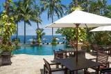 Bali - Alam Anda, Pool mit Restaurant