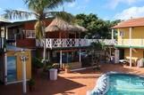Curacao - Rancho el Sobrino, Poolbereich