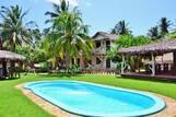 Barra Grande - Titas, Garten mit Pool