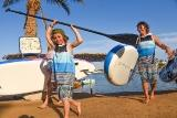 El Gouna - ELEMENT Watersports, SUP mit der Familie