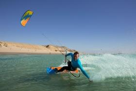 Dakhla - Kiteboarding Club, Kite Action am KBC Spot