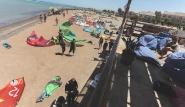 El Gouna, Kite-People, Überblick Strand und Station
