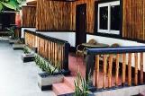 Malapascua-Hippocampus Beach Resort, Superior Zimmer, Veranda