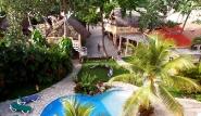 Cabarete, Villa Taina, Gartenanlage