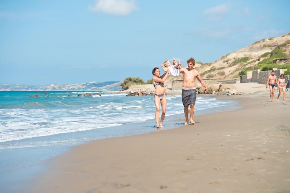 Kos - ROBINSON Club Daidalos, Spaß am Strand