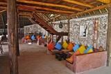 Zanzibar - Sunshine Marine Lodge, Restaurant mit Chillarea