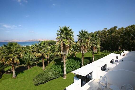 Kos Marmari Cavo d`Oro, Blick Garten und Bucht