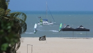 Sao Miguel do Gostoso, Clube Kauli Seadi, Blick vom Strand