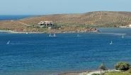 Sigri Lesbos - Surfen am Spot 1