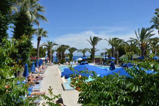 Rhodos Trianda, Blue Horizon, Pool mit Meerblick